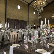chandelier, flower, table