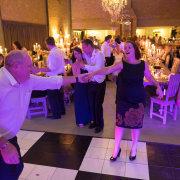 bridal party, dance floor