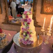 cake, cake topper, flower