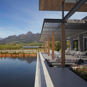 dam, mountain, venue, winelands