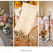 flowers, table, table numbers