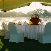 chair covers, table decor