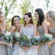 bouquet, bridesmaids dress