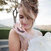 hair, makeup, tiara