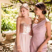 bridesmaids dressses, pink