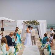 beach wedding, gazebo