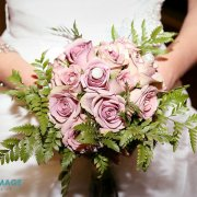 bouquet, pink, roses