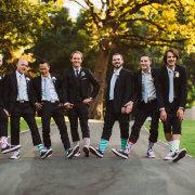 groomsmen, suit