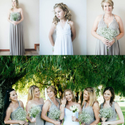bridesmaid dress, flower girls