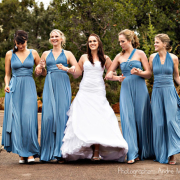 bridesmaid dress, wedding dress