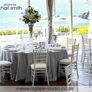 decor, table setting, white, beach