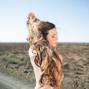 bride, hair