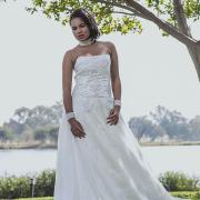 bracelet, necklace, wedding dress