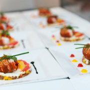 canapes, catering, food
