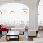 chair, decor, reception