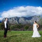 bride and groom, mountain, feature shot