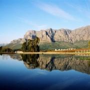 feature shot, lake, mountain