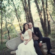 hairstyle, wedding dress