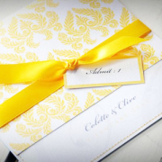 gold, wedding invitation, wedding stationery, yellow