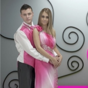 bridal wear, pink, tuxedo, wedding dress, wedding dress, wedding dress, shirt, suit