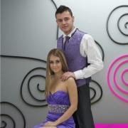bridal wear, wedding dress, bridesmaid dress, purple, tuxedo, wedding dress, wedding dress, shirt, suit