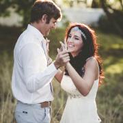 bride & groom, headpiece