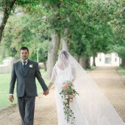 bouquet, suit, veil