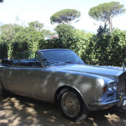 car, classic, silver