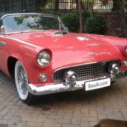car, pink, vintage