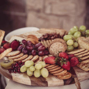 catering, cheese platter
