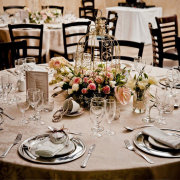 centrepiece, glassware, table setting