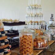 cake, candy, dessert, macaroon
