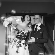 black and white photography, bride and groom