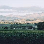 venue, winelands, mountains