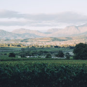 venue, winelands, mountains