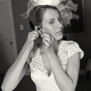 headpiece, veil