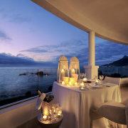 champagne, reception, sea
