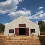 chapel, barn