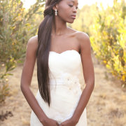 wedding dress, hair styles