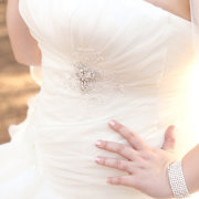 bracelet, wedding dress