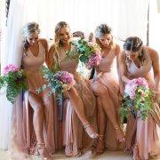 bridesmaids, bouquets, shoes