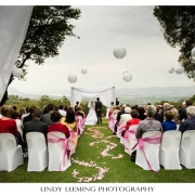 ceremony, view, wedding venue