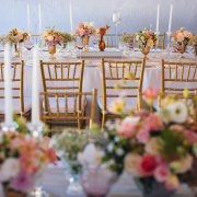 chairs, decor, flowers