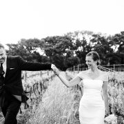 black and white, bride and groom, winelands