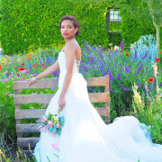 flowers, makeup, venue, wedding dress