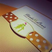 pattern, wedding invitation, wedding stationery, yellow