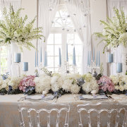 candles, chairs, decor, flowers