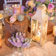candles, decor, flowers