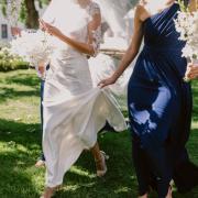wedding dress, bridesmiads dress