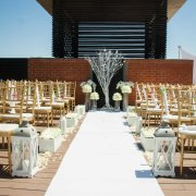 aisle, chairs, outdoor ceremony